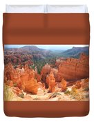 Golden Rocks Of Bryce Canyon  Duvet Cover