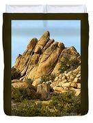 Golden Rocks Of Hidden Valley Duvet Cover