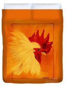 Golden Rooster Duvet Cover