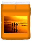 Golden Sands  Duvet Cover