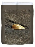 Golden Shell Duvet Cover