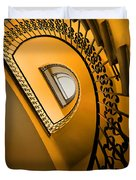 Golden Staircase Duvet Cover