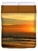 Golden Sun Up Duvet Cover