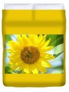 Golden Sunflower - 2013 Duvet Cover