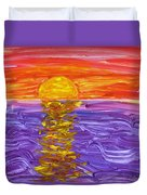 Golden Sunset 2 Duvet Cover