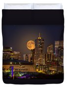 Golden Supermoon Duvet Cover