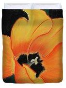 Golden Tulip Duvet Cover