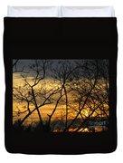 Golden Twilight 2 Duvet Cover