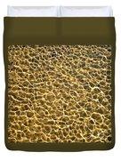 Golden Water Duvet Cover