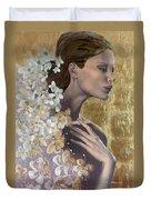 Golden Wind Duvet Cover