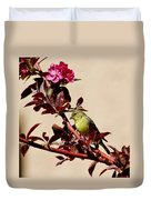 Goldfinch In Tree 031015aa Duvet Cover