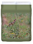 Goldfinches Duvet Cover