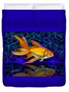 Goldfish Electric Duvet Cover