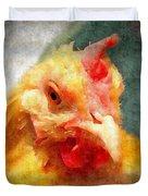 Goldie's Turn - Silk Paint Duvet Cover