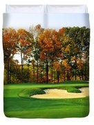 Golf Course, Great Bear Golf Club Duvet Cover