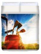 Golf Equipment  Duvet Cover