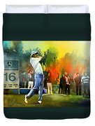Golf In Gut Laerchehof Germany 01 Duvet Cover