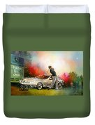 Golf In Gut Laerchehof Germany 03 Duvet Cover