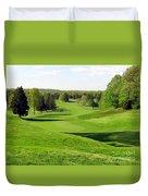 Golfer's Dream Duvet Cover