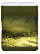 Golgotha Duvet Cover by Jean Leon Gerome