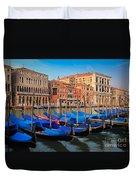 Gondola Row Duvet Cover