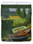 Gone Fishing Duvet Cover