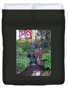 Gone Fishing. Keukenhof Gardens. Holland Duvet Cover