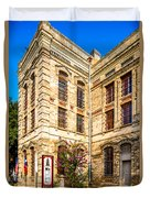 Gonzales County Old Jail Museum - Gonzales Texas Duvet Cover
