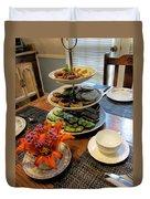 Good Eats In A Lovely Setting Duvet Cover