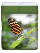 Good Morning Butterfly Duvet Cover
