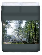 Good Morning Campers Duvet Cover