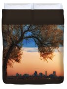 Good Morning Denver Duvet Cover by Darren  White