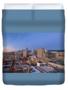 Good Morning Portland II Duvet Cover