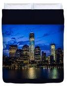 Good Night, New York Duvet Cover