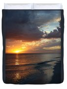 Good Night Sanibel Island Duvet Cover