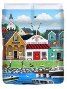 Goodies By The Sea Duvet Cover