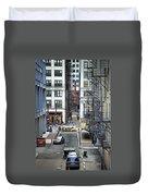 Goodman Chicago Duvet Cover by Scott Norris