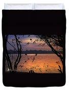 Goodnight Lake Duvet Cover