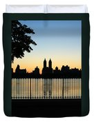 Goodnight Nyc Duvet Cover