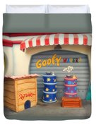 Goofy Water Disneyland Toontown Duvet Cover