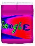 Google's Hallway Duvet Cover