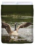 Goose Action Duvet Cover