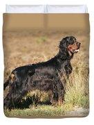 Gordon Setter Dog Duvet Cover
