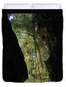 gorge in the Tsingy de Bemaraha Madagascar Duvet Cover