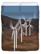 Gorge Windmills Duvet Cover
