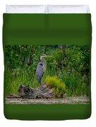 Gorgeous Heron Duvet Cover