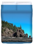 Gorgeous Rock Formations Duvet Cover