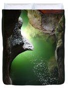 Gorges Du Fier Duvet Cover