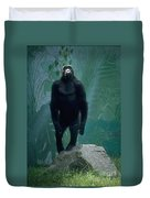 Gorilla Rock Duvet Cover