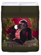 Gorilla With Shades-faa Duvet Cover